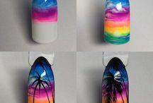 Nails summer & sea☀️ / Idee nail art estive!