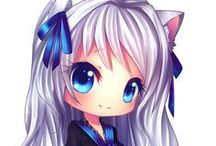 Cute anime girls:3