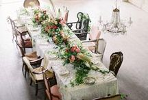 Tabletop Decor / Scenemakers inspiration for wedding table design. #tablescape #tabletopdecor #weddingtables #weddings
