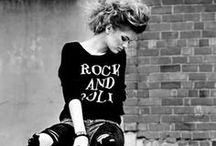 Street Chic / Street style=from glam rock to casual to preppy.  / by Stephanie Glover