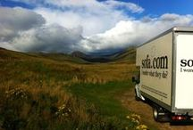 Where Have We Been? / At sofa.com we do all our own deliveries, in our own vans, and have a great team of drivers who will make sure everything runs smoothly. And boy do they get around! We love seeing where our drivers go, so we ask them to take photos of the farflung places they visit every day. Each month, our drivers go head to head in the Drivers Photo competition, and here's where we post the winners. Let us know which ones are your favourites, and if you see our vans out and about, give them a wave!