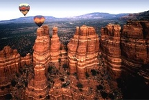 I have my favorite places and then I have my Sedona / In the midst of the Valley of the Sun a part a of heaven has fallen and cascades a small place on earth known as Sedona. / by Skot Bromenschenkel