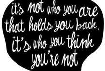 M O R E  T H A N  W O R D S / Words that resonate with me
