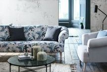 Inspiring Patterns / Pattern inspires us, and we can assure you here at sofa.com we're no plain Janes. We love how a pattern infuses both colour and image and it can really boost a room's look.