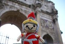 Greek & Roman Crochet Amigurumis / Two of my greatest passions in one board: Crochet  and amigurumi inspired by ancient Greek & Roman History, Mythology and Culture.