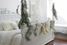 Wintry Home Inspiration / Make your home into a cosy wintry fortress with these winter home designs.