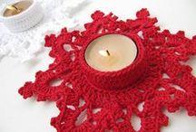 Christmas crochet / Crocheting for Christmas eve! #crochet #christmas #navidad #nadal #ganchillo #ganxet