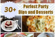 Recipes: Perfect Party Dips & Desserts