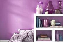 Radiant Orchid - Pantone 2014 / Here are our top picks on how to use Pantone's 2014 Colour of the Year