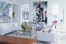 Designers & their Sofas / Be inspired by the homes of Ralph Lauren to Alexander Wang...