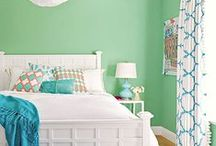 Bright + Colourful Rooms / Here are our top tips for how to infuse bright colour into your home. Get inspired by these bright and colourful rooms and home interiors, as well as colourful, bold items for your home styling.