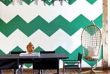 Chevrons at Home / We think chevrons are such a wonderful pattern choice for the home; so here are our top picks!