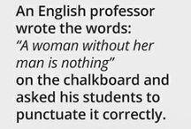 English & Language / by Tasha M. Troy