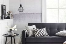 Contemporary Cool / Fresh muted tones and natural textures - just a few reasons why we love Scandanavian design and style
