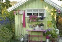 Outdoor-Shed / by Kristin Molen