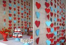 Festa Vermelho e Azul / Ideias para uma festa nas cores azul e vermelho  / by Clube da Joaninha ♥♥