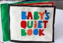 Quiet Books / Quiet book inspiration, tutorials and patterns