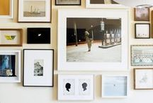 Gallery Wall Ideas / It doesn't get much better than a gallery wall, displaying all your favourite memories, inspirations and art in one place. Here's our top picks on how to create a stylish and affordable gallery wall in your home.