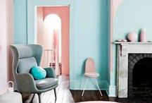 Pretty Pastels / Move over neon brights and earthy hues - this season's trend is all about pretty pastels and the calm they can bring to the home. Find pastel home decor inspiration and decorating tips here.