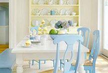 Shabby Chic Craft Room / #shabby #chic craft room ideas