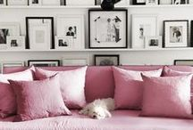 Blush Pink Interior Inspiration / Style your home with blush pink, a hot colour in 2016. Find inspiration for your incorporating blush pinks into your interior design plans, in your bedroom, bathroom, study or lounge.