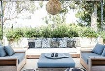 Cosy Outdoor Spaces / Your outdoor space doesn't need to be big to be great. These cosy outdoor spaces will give you inspiration for how to decorate your own garden, terrace, or balcony.