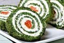 špenát + květák + brokolice