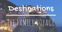 Amazing Travel Destinations / Looking for some travel inspiration? Check out these beautiful destinations! Travel guides, itinerary ideas, and insider tips for places all around the world. We'd love to visit them all one day.
