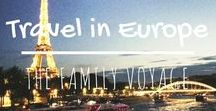 Travel in Europe / When you're planning a trip to Europe, look here for all the best Europe itineraries and places to go in Europe. #travel #europe #england #france #ireland #scotland #spain #italy #germany #belgium #netherlands #austria #iceland #norway #sweden #finland #denmark #russia #portugal #switzerland