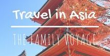Travel in Asia / When you're planning a trip to Asia, look here for all the best Asia itineraries and places to go in Asia. #travel #asia #china #japan #india #thailand #indonesia #korea #srilanka #vietnam #laos #cambodia