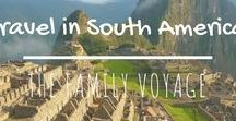 Travel in South America / When you're planning a trip to South America, look here for all the best South America itineraries and places to go in South America. #travel #colombia #peru #brazil #chile #argentina #uruguay #ecuador