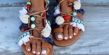 Dimitra's Workshop Sandals Collection / Our handmade and handsewn sandals collection
