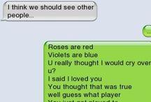 Text bombed