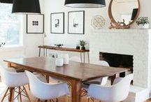 Pièce | Salle à manger - Dining Room / Viens t'inspirer avec nous pour ta déco de ta salle à manger ! Tu trouveras ici : idées d'aménagement, solutions de rangement futé, chic mobilier de salle à manger, et motifs jolis pour mettre de la vie. Que tu rêves d'une salle à manger contemporaine, glamour, style industriel ou bien rustique, tous styles confondus, notre radar créatif est toujours à l'affût ;) Rejoins la #TribuCréative ! => tandemcodesign.com/infolettre