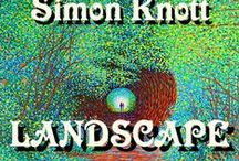LANDSCAPE Painting by Simon Knott / LANDSCAPE PAINTINGS * Impressionistic Style for INTERIOR DECOR DESIGN for your HOME by Simon Mark Knott Interior Design InteriorDesign AnimalDesign, CatDesign, OilPainting, LandscapeArt, FineArtist, FineArt, UKDesign, BritishDesigns - England UK  My WEBSITE  simbird.com by Simon Mark Knott B.A.  British  Artist and Designer
