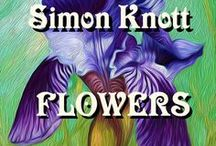 Flowers Landscapes by Simon #KnottArt / Flowers Landscapes and Nature - Floral Colourful Interior Oil and Acrylic Painting & Designs by Simon Knott UK Artist