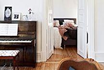 inside // living / interior design // home decor // cozy, comfy spaces // pretty interiors / by megan riley