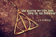 Harry Potter Obsession / I owe JK Rowling my childhood. I grew up with Harry, Ron, Hermione, Neville, Luna, Draco & all the others. This board is dedicated to them.  / by Autumn Scaglione
