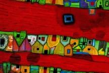 Hundertwasser / by Vered Gabay