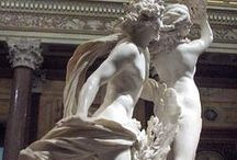 Bernini /   Gian Lorenzo Bernini  (1598-1680)   Visual Artist     Gian Lorenzo Bernini was an Italian artist and a prominent architect who worked principally in Rome. He was the leading sculptor of his age, credited with creating the Baroque style of sculpture.  / by Vered Gabay