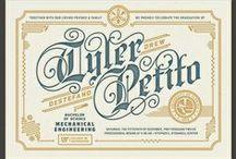 Typography & Lettering / by Lázaro Mendoza