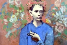 Pablo Picasso Blue Period / by Vered Gabay