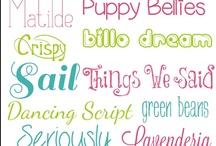 Fun Fonts / by Tylonda Bell
