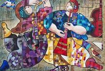Israeli and Jewish visual artists / by Vered Gabay