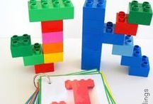 Alphabet Activities / Fun, hands-ons activities, crafts and fun for learning the alphabet!