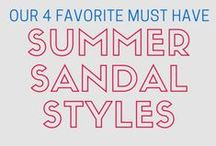Summer Sandal Trends We LOVE! / by Street Moda