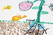 Art for Kids / Sharing the beautiful world of creativity with kids through artistic expression.