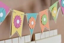 Garlands We Love! / Garlands, bunting, banners, whatever you want to call them... we LOVE them!! These are our favorites!
