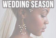 Wedding Season / Inspired looks for a classy wedding.
