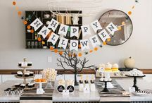 Spooking / Boo!  Creepy crafts, vignettes, decor, party planning, and costumes especially for Halloween.